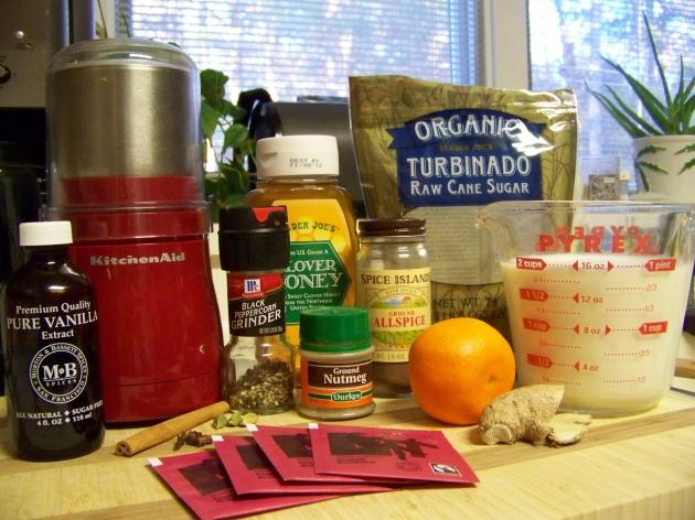 Malsala Chai Ingredients