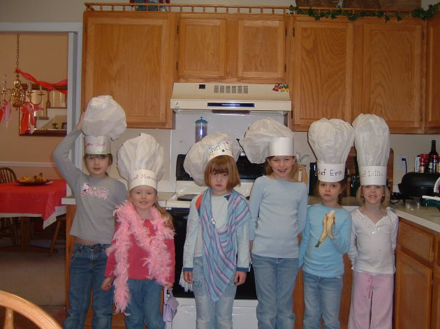Homemade Chef's Hats