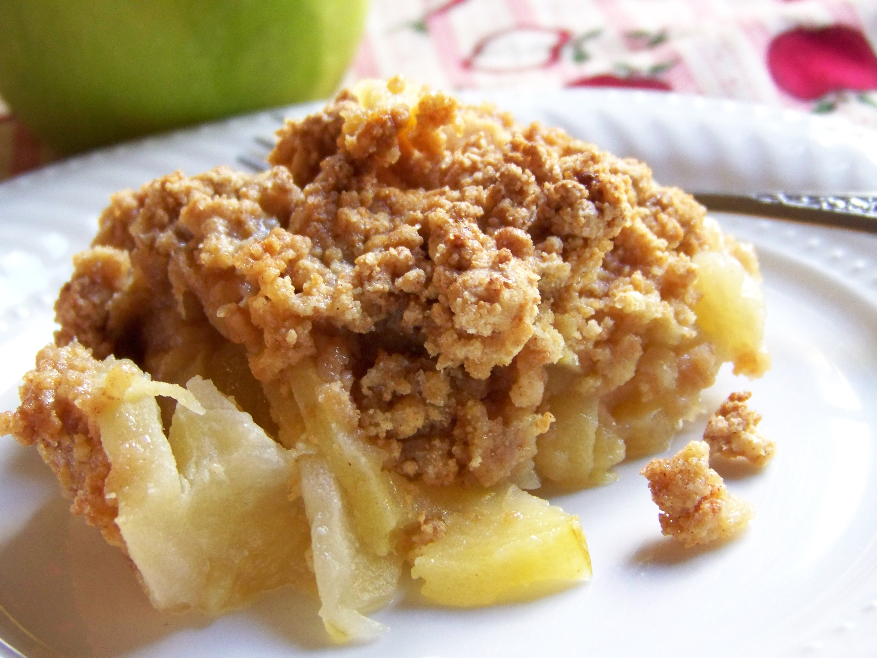 Grandma's Number 1 Perfect Apple Cobbler | HealthyMamma's Blog